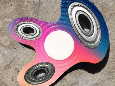 INSANE DIY FIDGET SPINNER TUTORIAL!!! (*MAKE ANY FIDGET SPINNER WARP*)