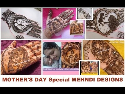 Mother's Day Special Mehndi Henna Art Designs Compilation- DIY Henna Tattoo #AllTheMoms