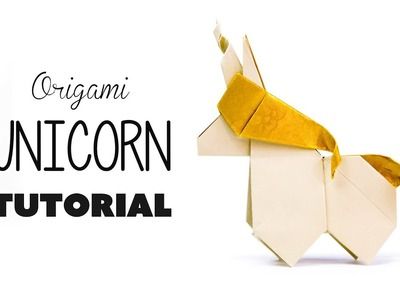 Origami Unicorn Tutorial ???? DIY ???? Paper Kawaii