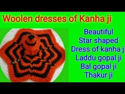Part 1.2;. How to make. Crochet. Puff Stitch. Woolen. Dress. Poshak. of. Laddu gopal