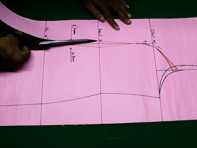 Princess cut kurti cutting and stitching DIY tutorial explained 2017 part1, Princess cut kameez