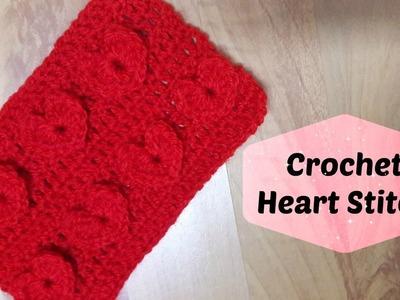 REDO: How to crochet heart stitch? | !Crochet!