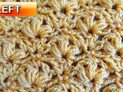 Regal Stitch - Left Handed Crochet Tutorial