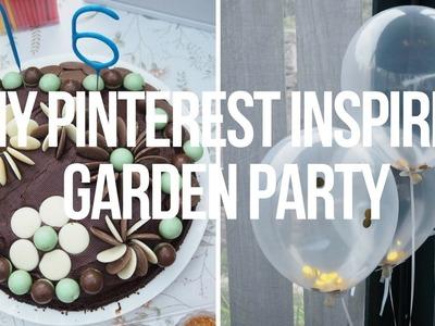 SUMMER DIY PINTEREST INSPIRED GARDEN PARTY IDEAS | LaurenMThwaites