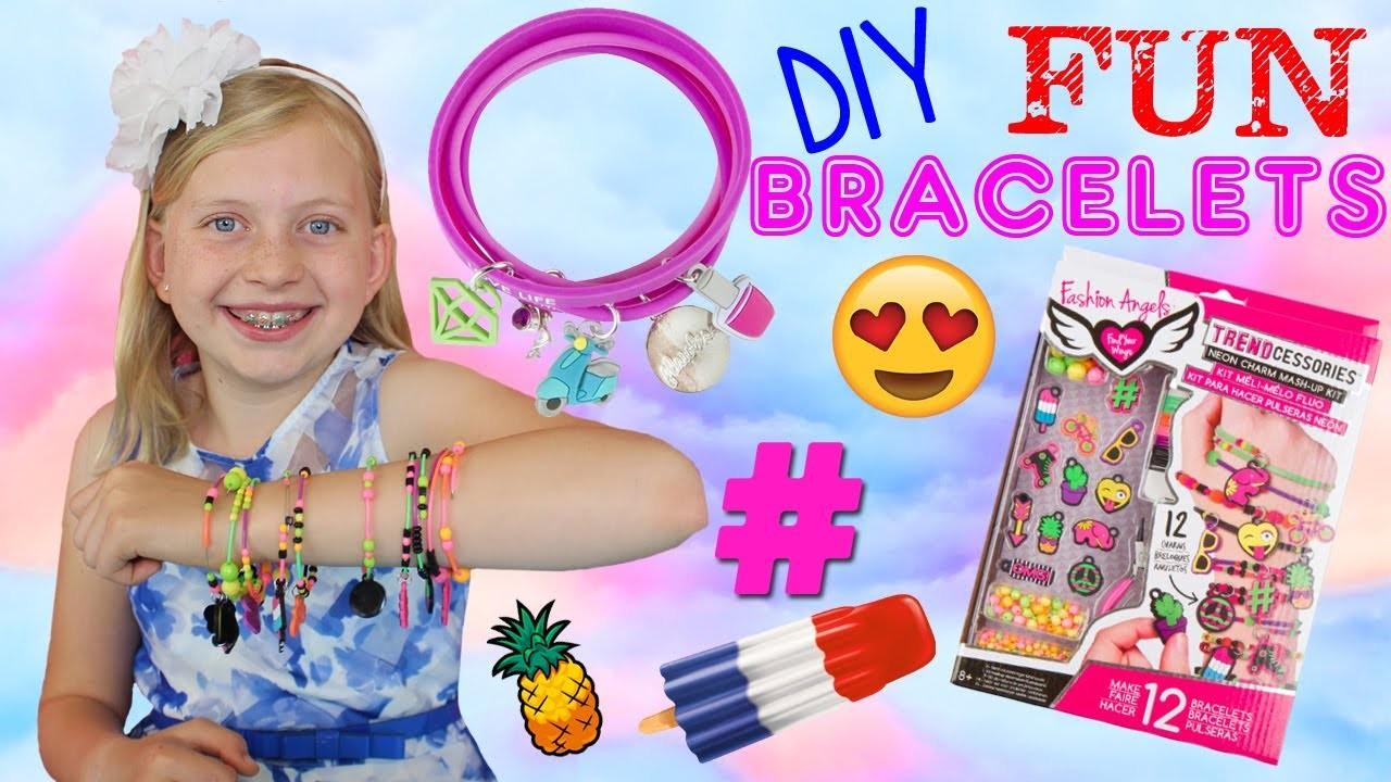Super Fun DIY Charm Bracelets!!