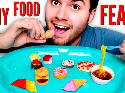TINY FOOD FEAST - DIY Mini McDonalds, Ramen, Pizza, Sushi! HOW TO POPIN COOKIN