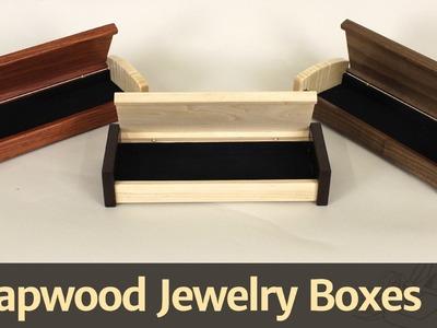268 - Scrapwood Jewelry Box