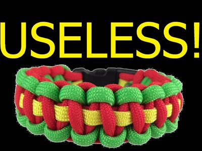 90% Of Paracord Bracelets Are Useless Because of How They're Woven and Worn