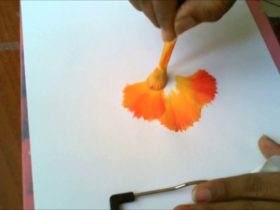 Acrylic Painting- Round Brush Magic, One Stroke Technique Decorative Florals