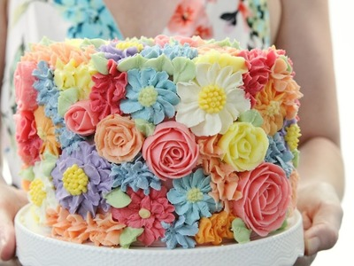 Amazing Flower Cake Compilation - CAKE STYLE - Most Satisfying Video
