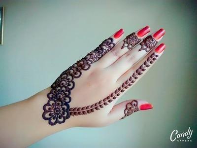 Arabic Henna | Henna Tutorial | Gulf Style Henna | Tattoo Henna | Flower Mehnd - Naush Artistica