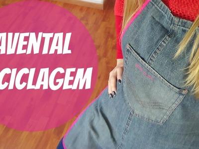 Avental de perna de calça jeans | ModaByNill