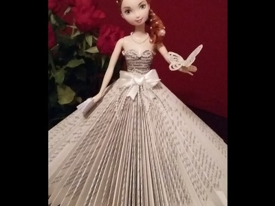 Book folding.  LOOK at this beautiful doll. You can make this.
