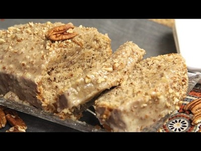Butter Pecan Bread w. Cream Cheese Butter Pecan Glaze