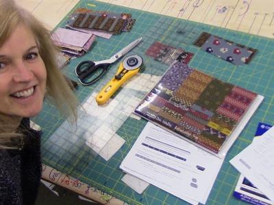 Daybreak Quilt Pattern using a Strip Set | Let'sMake Quilting Tutorial