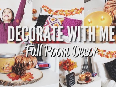 Decorate With Me! | Fall Room Decor