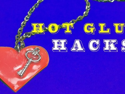 DIY | 5 CRAZY Life Hacks With Glue Gun