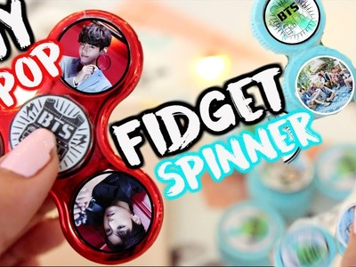 DIY K-POP FIDGET SPINNER (BTS) | OnlyKelly