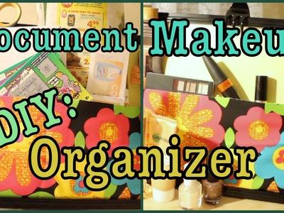 DIY: MakeUp.Document Organizer
