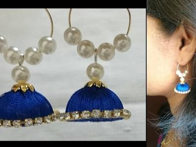 EASY Silk thread earrings.