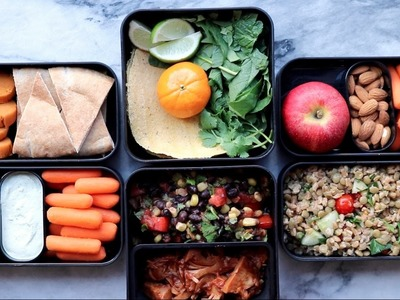 Easy Vegan Lunch Ideas for School or Work. Bento Box Edition
