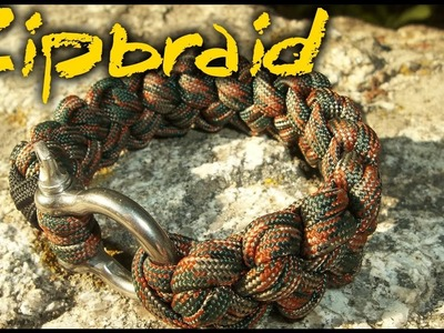 FAST Deploy Paracord Bracelet! - The ZipBraid by Cobrabraid.com