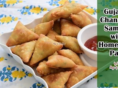 Gujarati Chana Dal Samosa with Homemade Patti | Priya R | Magic of Indian Rasoi