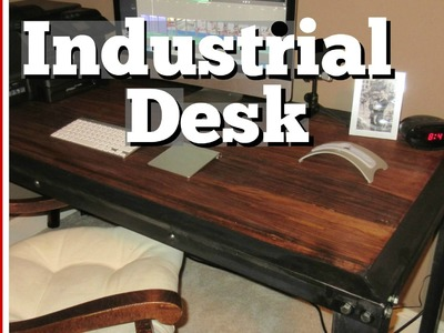 ???? Handmade Industrial Table Build