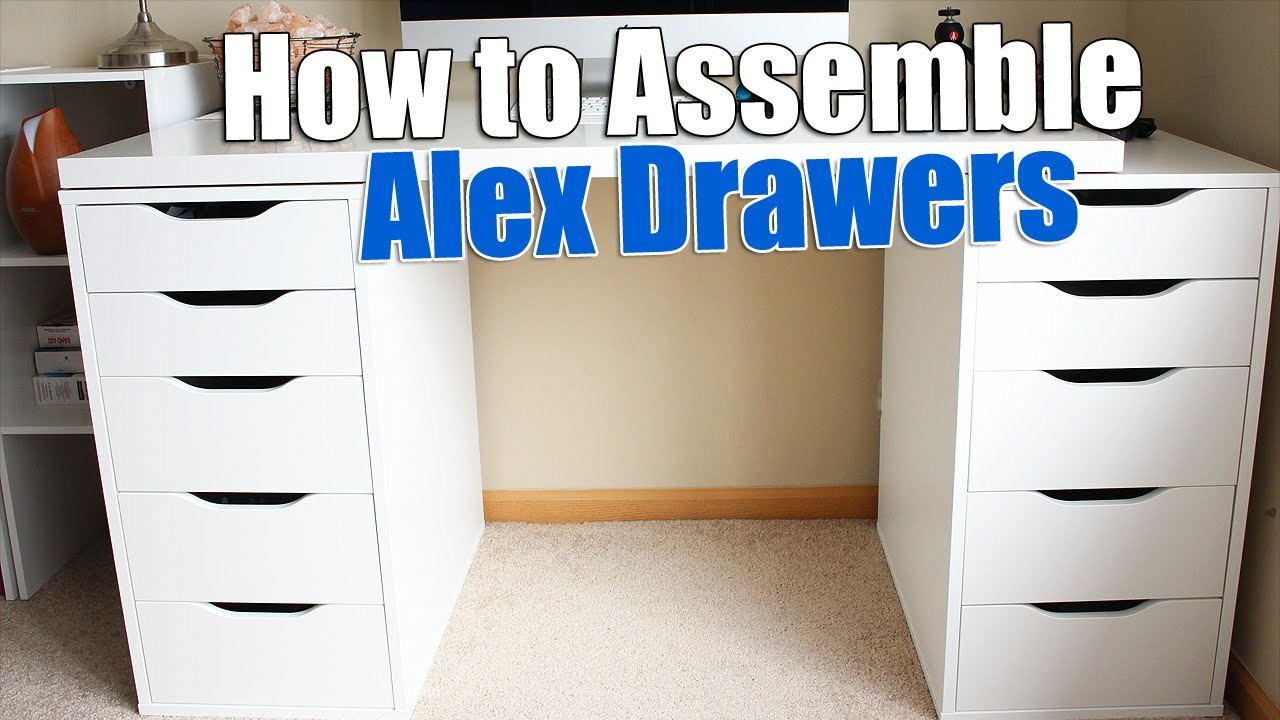 How To Build Ikea Alex Drawers Build Ikea Furniture My