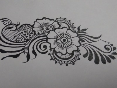 How to DIY easy beautiful mehndi henna designs for hands-Matroj Mehndi designs