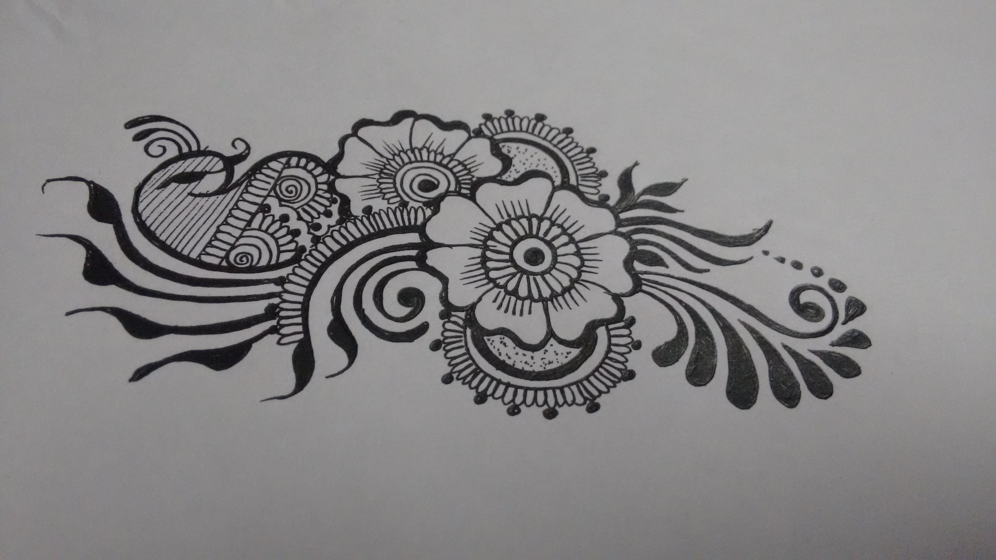 Easy Diy Mehndi Designs : How to diy easy beautiful mehndi henna designs for hands