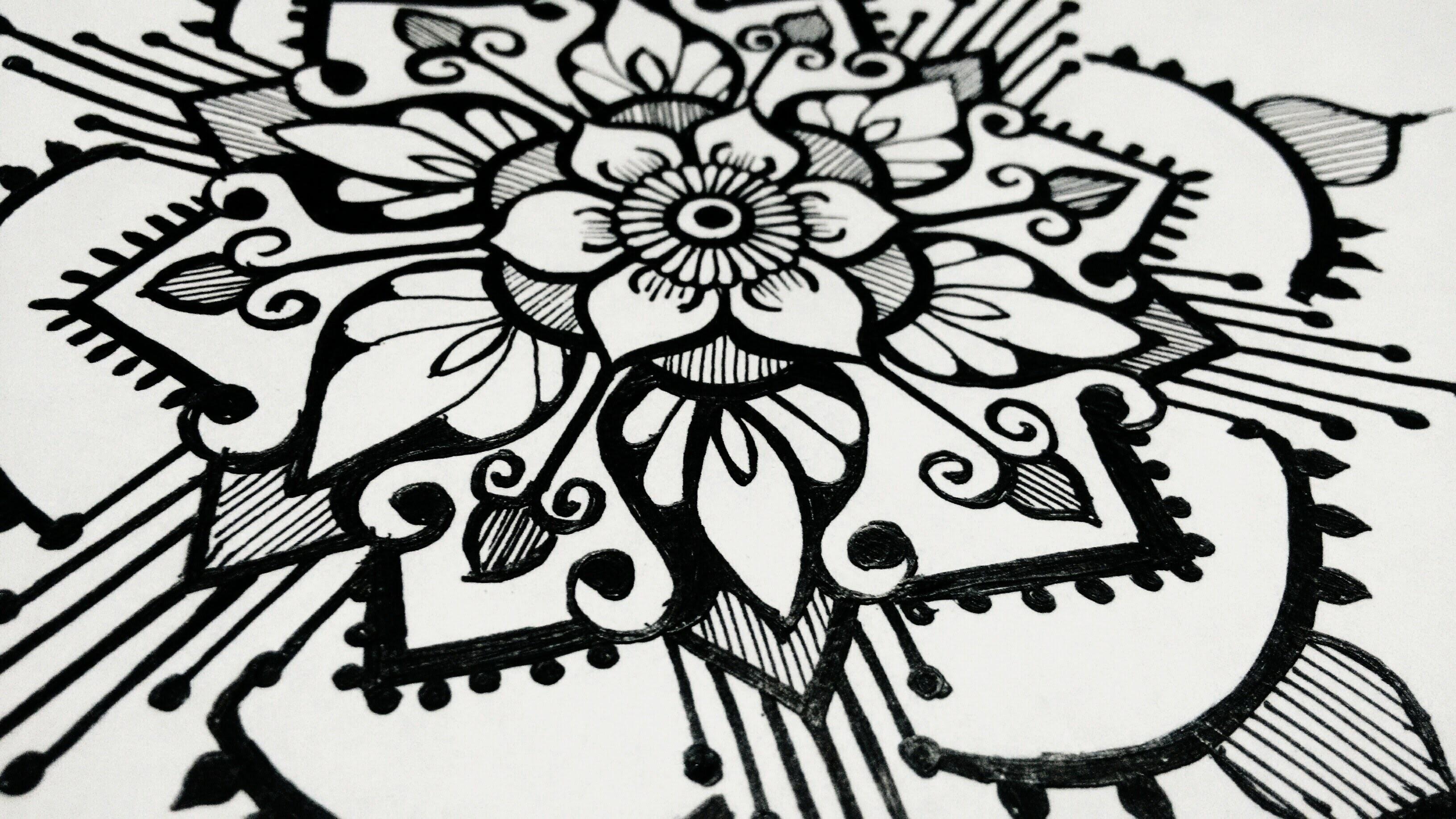 how to draw mandala designs beautiful henna tattoo designs. Black Bedroom Furniture Sets. Home Design Ideas