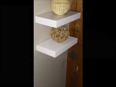 How to Install Splendid Serendipity's Showcase Floating Shelves