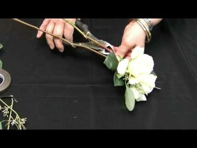 How To Make A Corsage For Mothers Day Using Real Touch Flowers
