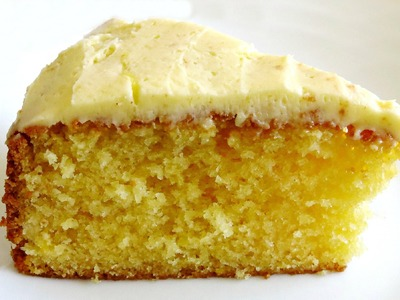 HOW TO MAKE A LEMON CAKE