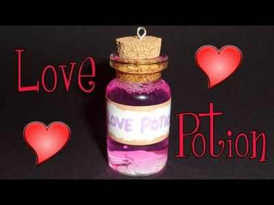 How to Make a Love Potion Miniature Bottle Charm