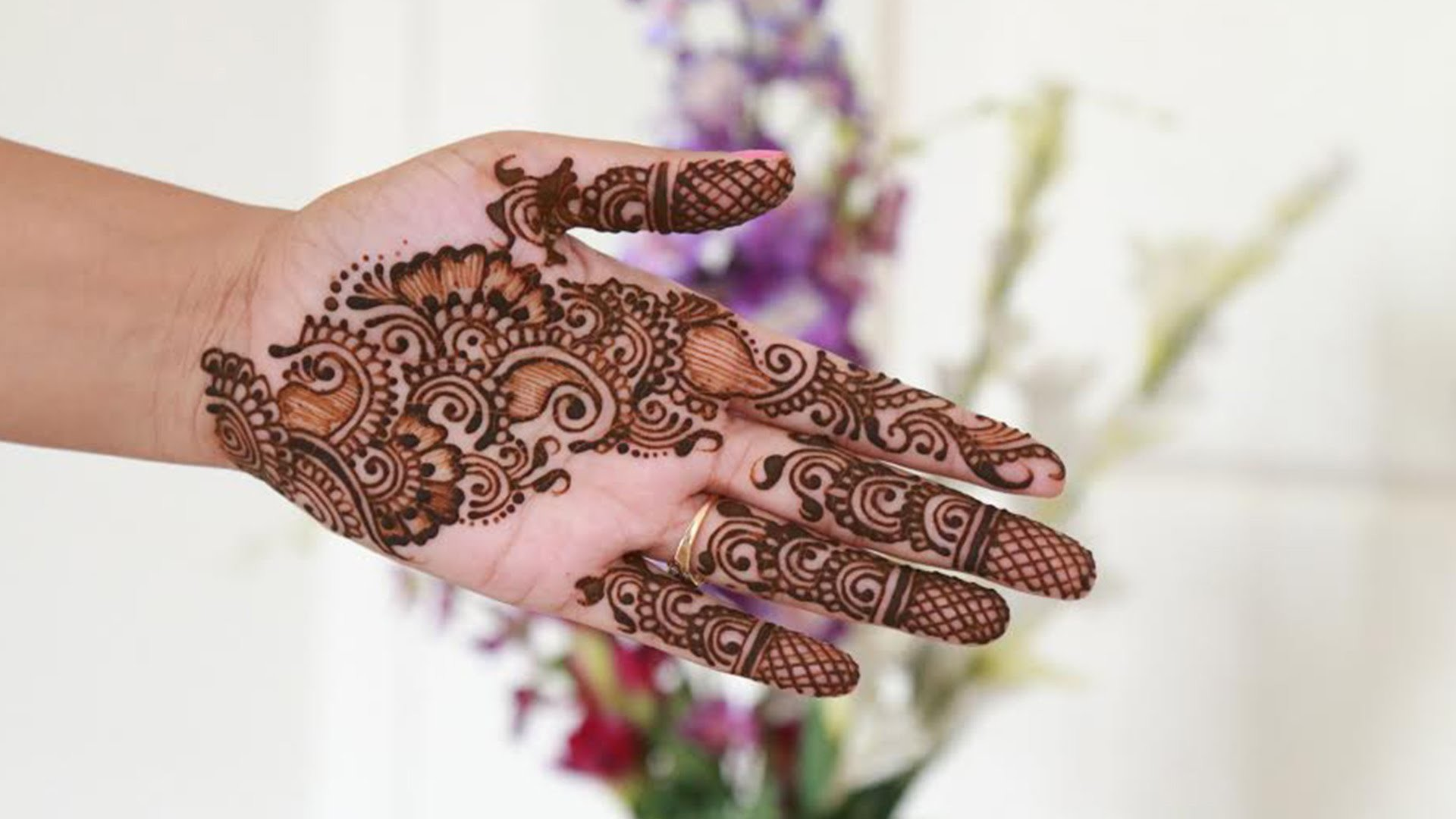 Arabic Mehndi Step By Step : How to make arabic henna.mehndi design step by tutorial my