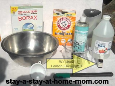 How-To Make Homemade All-Purpose Cleaner