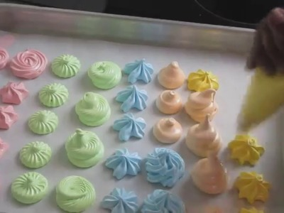 How to Make Meringue Bites