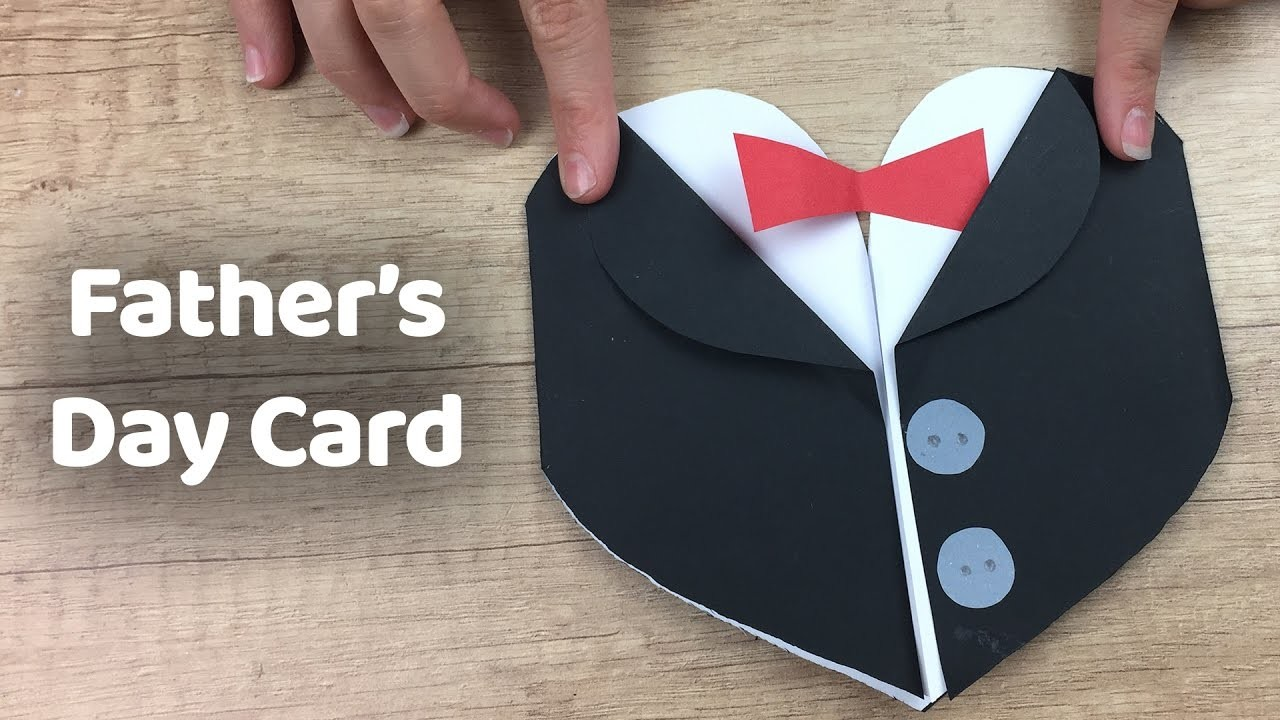 fathers day tuxedo card how to make tuxedo fathers day gift card simple and 4451