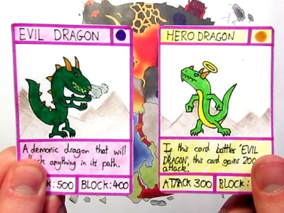 How To Make Your Own Trading Cards By Hand