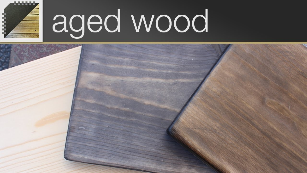 How to Oxidize Wood & Get A Vintage Look