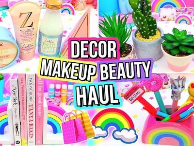 HUGE FUN Room Decor & Makeup HAUL!