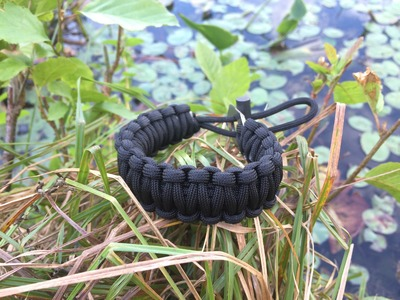 I'll Catch Fish and Start Fire with This Survival Bracelet from The Friendly Swede