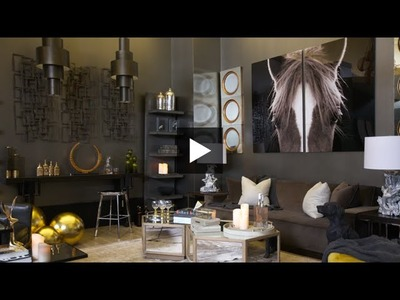 Interior Design — How To Design A Cocktail Lounge-Inspired Living Room