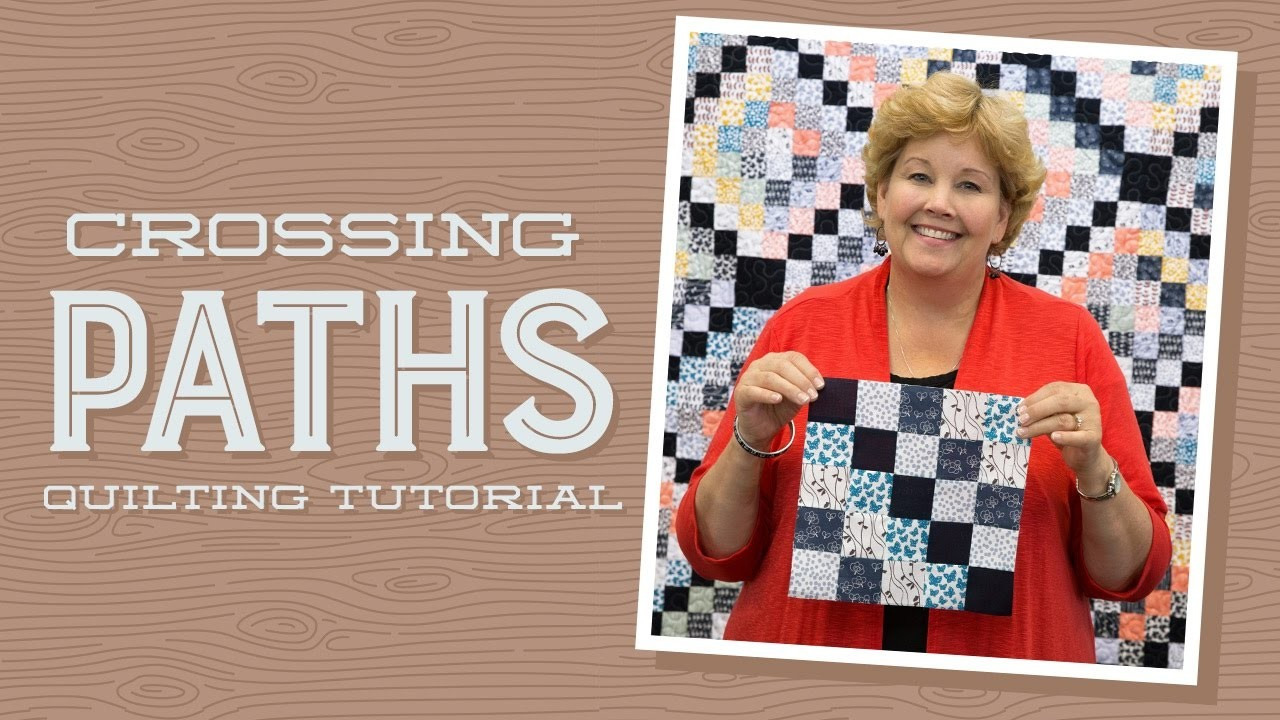 """Make a """"Crossing Paths"""" Quilt with Jenny!"""