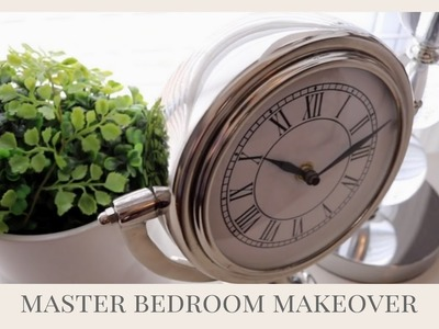 Master Bedroom Makeover | Do It On A Dime Collab
