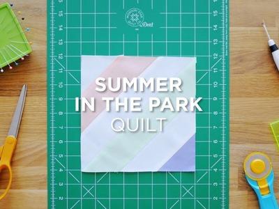 Quilt Snips Mini Tutorial - Summer In The Park