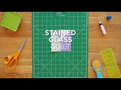 Quilt Snips Mini Tutorial - Stained Glass Quilt