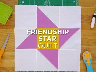 Quilt Snips Mini Tutorial - Friendship Star